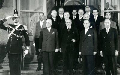 Atto I: dall'8 settembre alla prima legislatura (1943-1953)