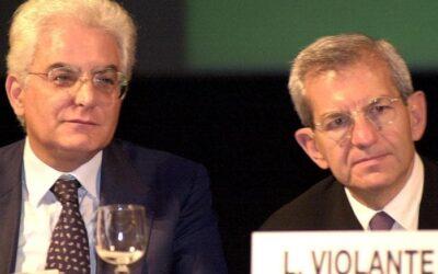 Quella volta in cui Violante cambiò il nome al gruppo leghista e Mattarella rispose a Pagliarini